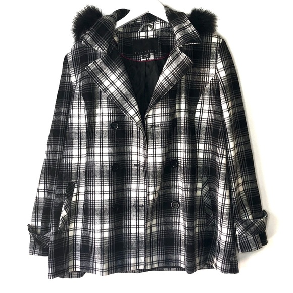 attention Jackets & Blazers - Attention. Flannel double breasted coat. Size XL